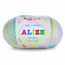 Пряжа ALIZE Baby Wool Batik