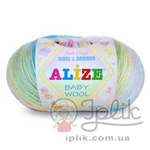 Купить пряжу ALIZE Baby Wool Batik
