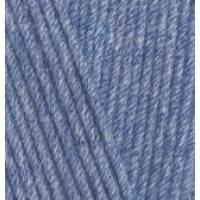 ALIZE Cotton Gold 374 Голубой меланж