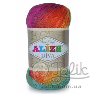 Купить пряжу ALIZE Diva Batik