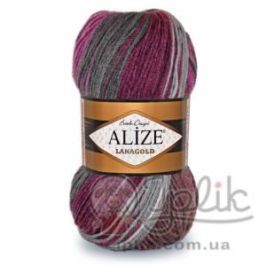 Купить пряжу ALIZE Lanagold Batik