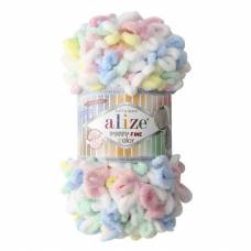 Купить пряжу ALIZE Puffy Fine Color
