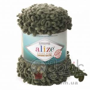 Купить пряжу ALIZE Puffy Fine Ombre Batik