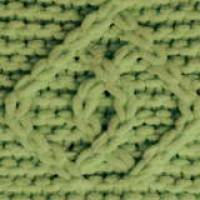 ALIZE Puffy Fine 485 Зелёная черепаха