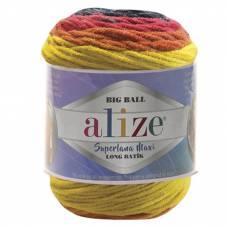 Купить пряжу ALIZE Superlana Maxi Long Batik
