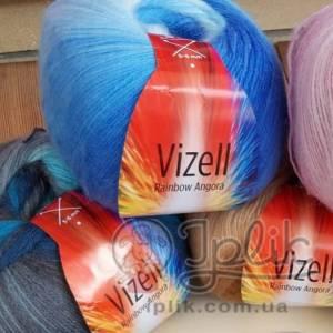 Купить пряжу VIZELL Rainbow Angora